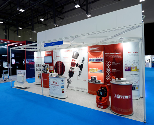 Exhibition Stand Manufacturers Uk : Isoframe stand design and build the events resource