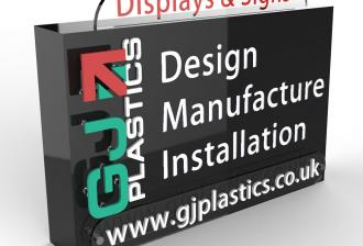GJ Plastics Design Sign