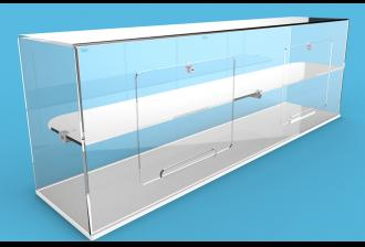 GJ Plastics Acrylic Display Case