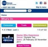 EC&O mobile-optimised website