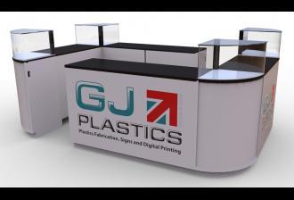 GJ Plastics Modular Kiosks